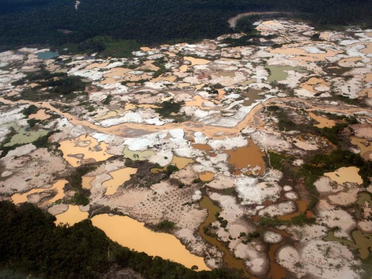 Ρύπανση με υδράργυρο σε ορυχεία χρυσού στον Αμαζόνιο